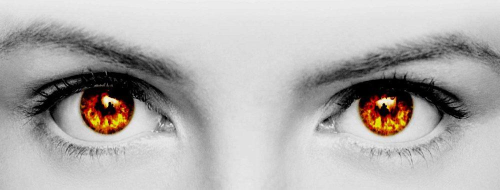 Огонь в глазах:  как зажечь и как сделать, чтобы не потух?